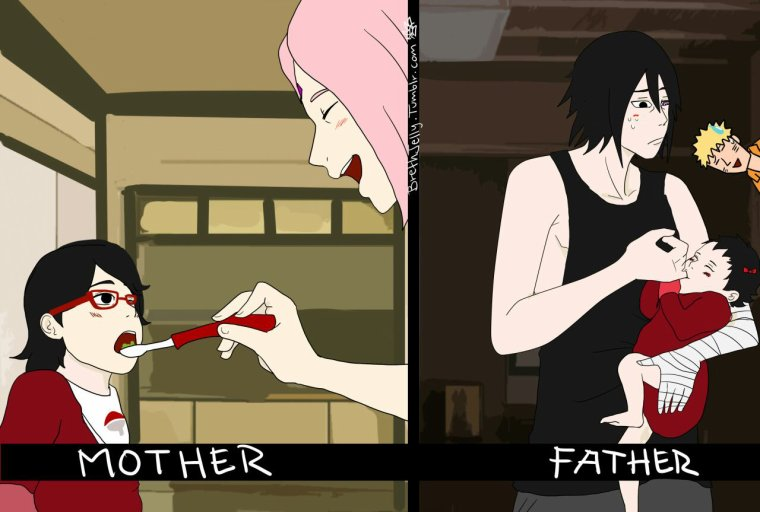 MOTHER AND FATHER!