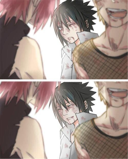 Sourire de Sasuke...⬅