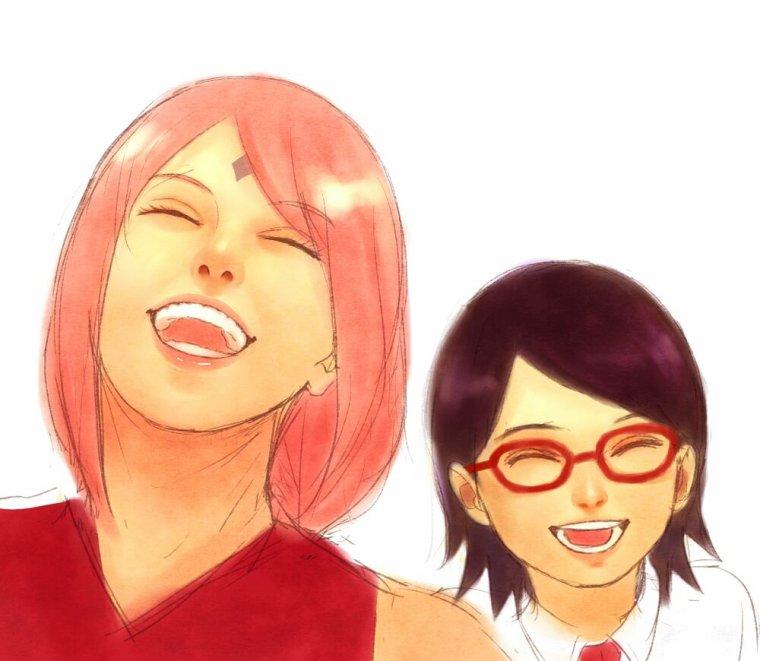 Entre mère et fille il faut rire de temps en temps !