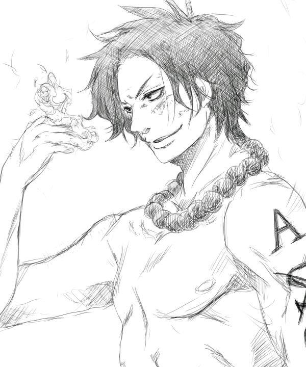 ➡Notre beau jeune Ace .