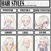 ♋Nouveau hair styles Ino.♋