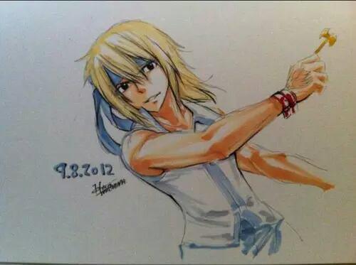 Natsu Gray Lucy.