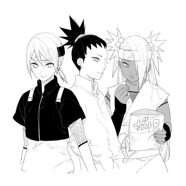Enfants des héros de konoha