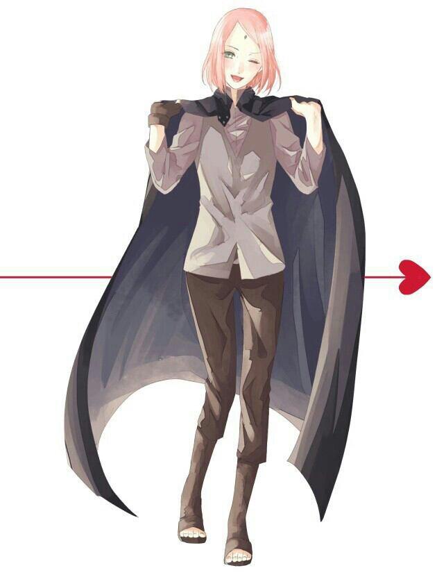 Vêtements Sasuke sur Sakura...