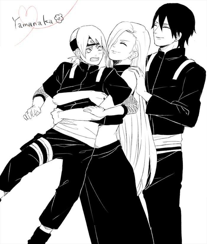 FAMILLES YAMANAKA And SASUSAKU,