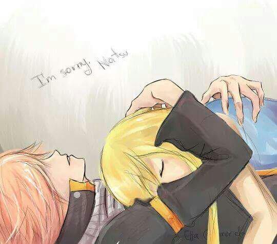 I'M SORRY NATSU - LUCY...