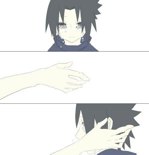 Je serai toujours avec toi Sasuke