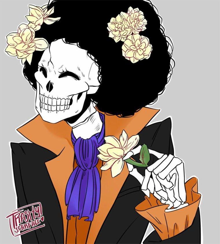 Fleurs avec One Piece.(1)