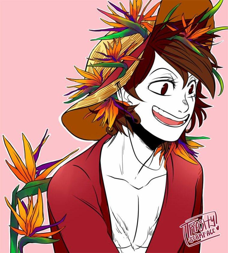 One piece fleurs.(3)