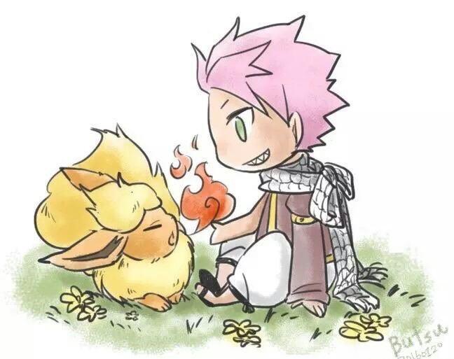 Gray vs Natsu pokemon.