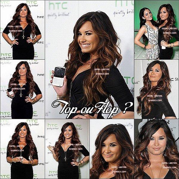 """Rattrapage de quelques News - 13.07.11 - Justin a été au ESPY Awards 2011 - 19.07.11 - Demi assisté au """"Statut HTC sociale"""" événement de lancement dans les studios Paramount à LA. Top Ou Flop ?"""