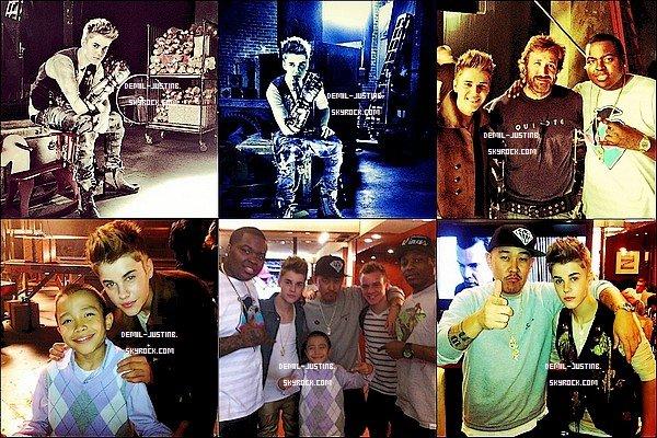 24.10.11- Justin a été hier sur le set du nouveau clip puis il a fait quelques photos avec ses amis - Le meme jour,Demi a chanté la hymne national dans un match de football Américain au Texa - 23.10.11 - Demi arrivant à l'aéroport de LA pour partir au Texas. Top ou Flop ?