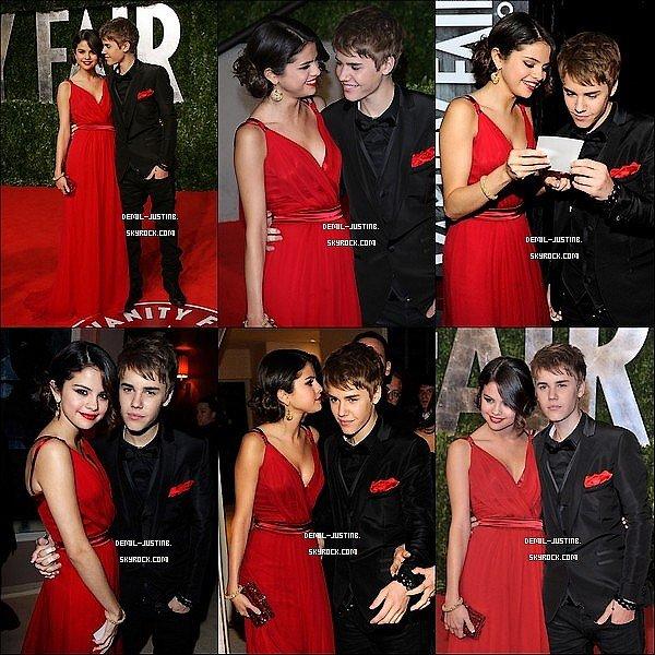 1/03/11: Justin & Selly font du shopping dans un centre commercial +au restaurant / 27 Février 2011 : Justin et Selena  était au « 2011 Vanity Fair Oscar Party ».