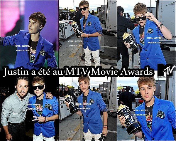 05.06.11 - Justin au MTV Movie Awards, Un TOP - 04.06.11 - Demi a été photographié en quittant le Bar Cafe Entourage + Demi assisté à la Cover Girl Beauty, TOP aussi & Vous vous dites Plutot TOP ou FLOP ?