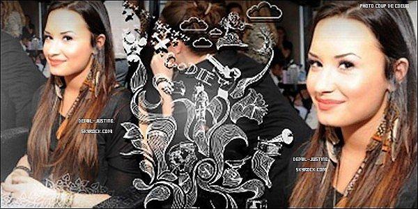 05.06.11 - Justin au MTV Movie Awards, Un TOP - 04.06.11 - Demi a été photographié en quittant le Bar Cafe Entourage + Demi assisté à la Cover Girl Beauty, TOP aussi & Vous vous dites Plutot TOP ou FLOP ?