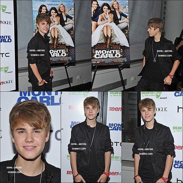 """23.06.11 - Justin a été dans deux avant celui de l'av. """"Monte-Carlo"""" & celui de son parfum """"Someday"""". - 24.06.11 - Demi & des amies à elle sont allées à un consert de B.Spears & celui de N.Minaj."""
