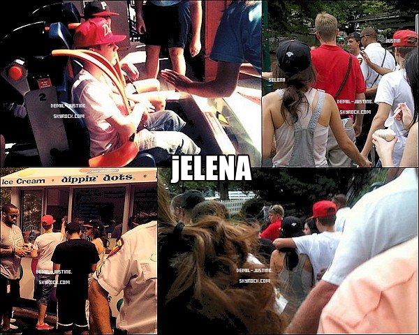 21.08.11 - Jelena ont été aperçu au parc d'attraction de Hershey Park. ( Désolé pour les qualités des images ) - 21.08.11 - Le meme jour, Demi a été à Disneyland avec ses amies & deux photos de Demi au mariage de Kim le 20 Aout + Des nouvelles photos de l'anniversaire Party de Demi & de son amie Hannah du 18 Aout.