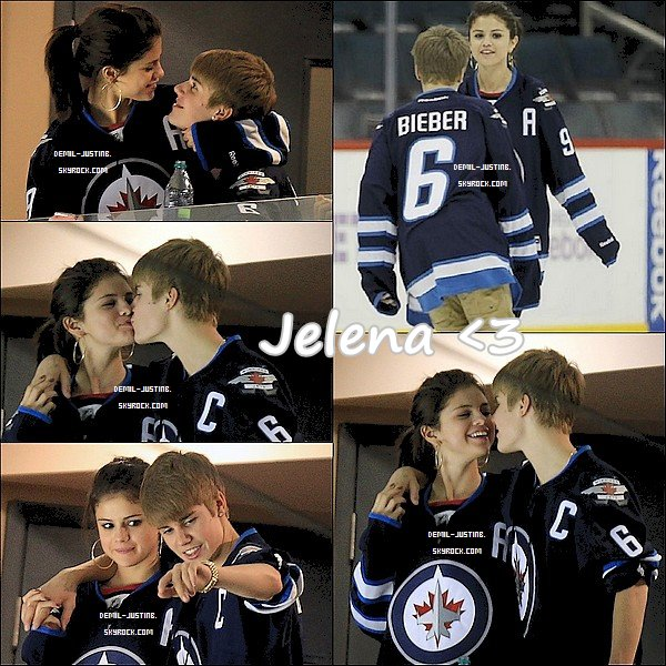 22.10.11 - Jelena au match des Winnipeg Jets (au Canada) - 21.10.11 - Hier,Demi a été sur le tapis de Jingle Ball 2011.Top ou Flop ?