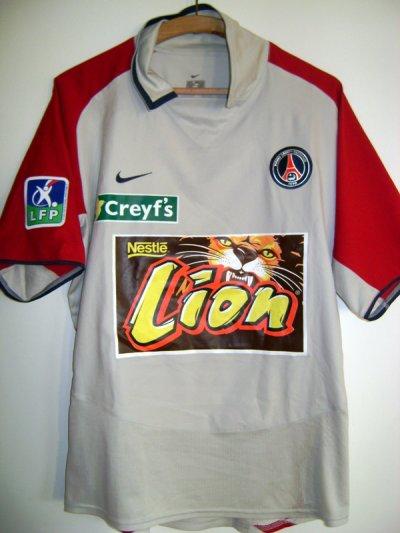Maillot porté Coupe de la ligue