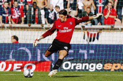 Maillot PSG gardien porté Saison 2009/2010