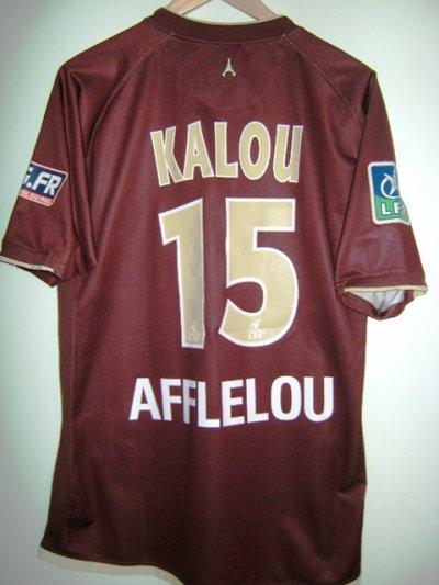 Maillot porté Bonaventure Kalou