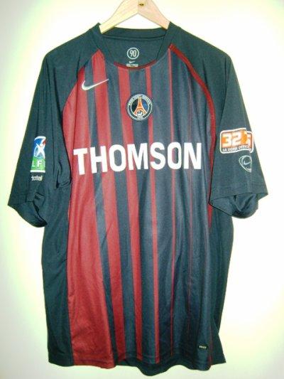 Maillot porté Psg en 2004/ 2005