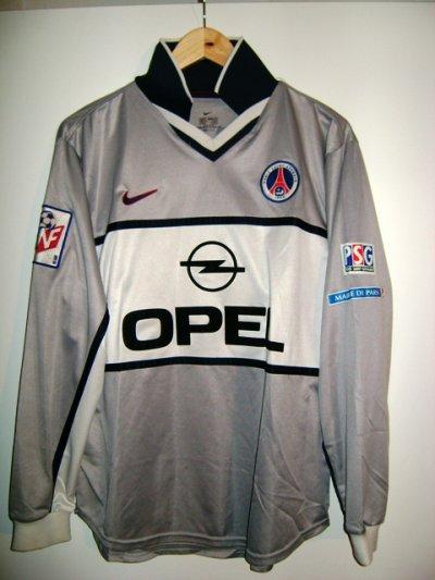 Maillot porté lors de MONACO PSG 1999/2000