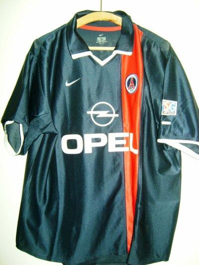 maillot domicile 2001 / 2002