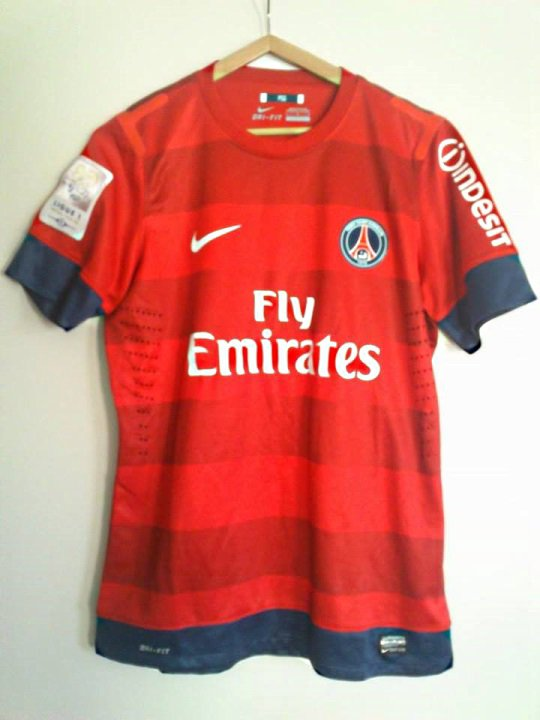 Maillot David Beckham 2012 2013 Champion de France