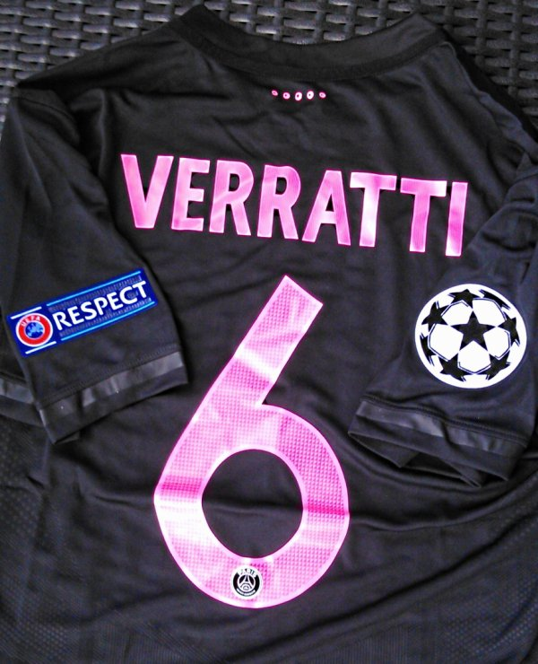 Maillot MARCO VERRATTI CHAMPIONS LEAGUE 2015-2016
