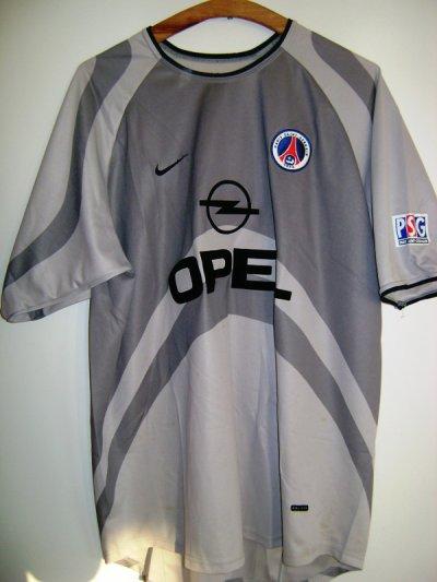 Divers maillots exterieur du PSG