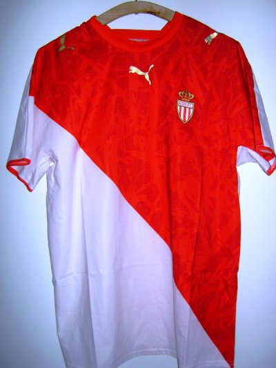 Maillot porté As monaco 2006/2007 contre l'inter