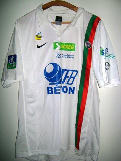 Maillot porté lors de CRETEIL-BASTIA 2006/2007 en ligue 2