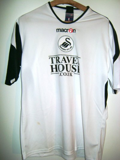 Maillot Swansea city (pays de galles)