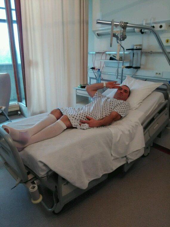Hahaha avant l opération