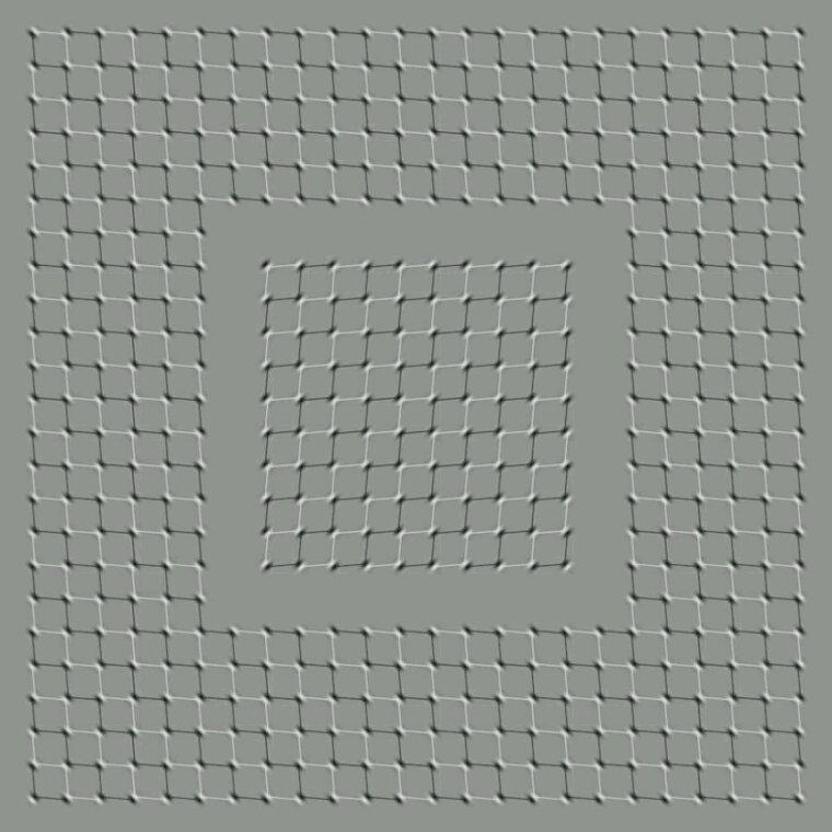 Si tu vois le carré au milieu bouger c est que tu as un problème psychologique lol
