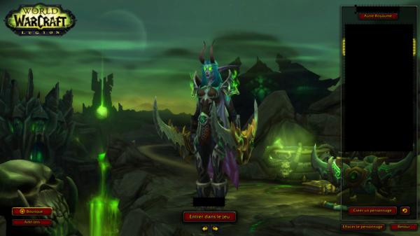 Jeu : World Of Warcraft Extension : Légion