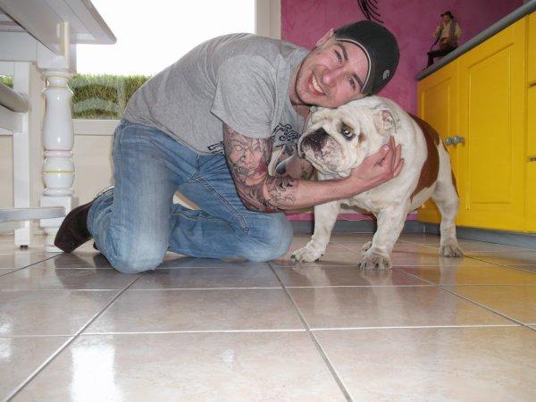 Bébert et moi :-)