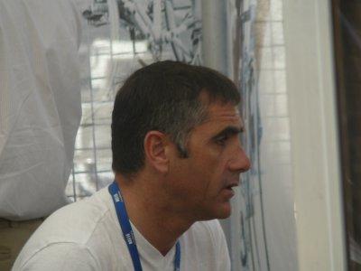 Laurent Jalabert alias Jaja et Bernard Thévenet - Tour de France 2009 à Montélimar
