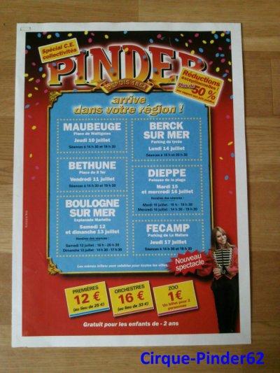 Fin du reportage sur le Cirque Pinder à Boulogne sur Mer-2008