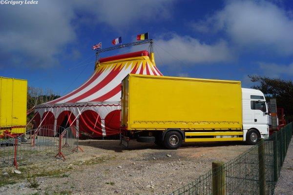 Suite du reportage sur le Cirque Cilio Ritz à Hardelot-2016