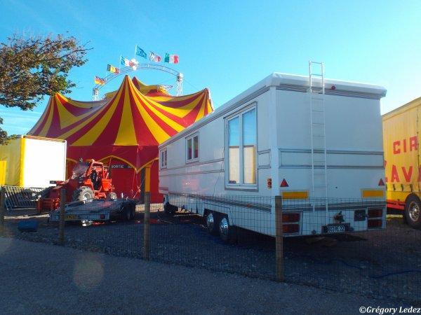 Suite et fin du reportage sur le Cirque Jackson à Hardelot-2016
