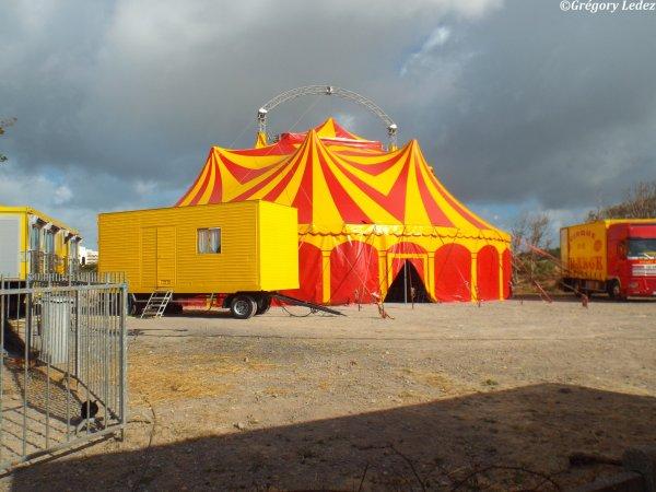 Suite du reportage sur le Cirque de France à Hardelot-2016