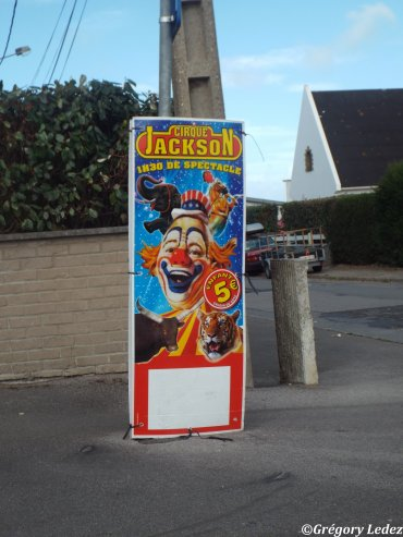 Suite et fin du reportage sur le Cirque Jackson à Wimereux-2016