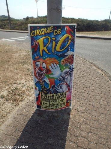 Suite du reportage sur le Cirque de Rio et le Cirque Cilio Ritz à Stella Plage-2016