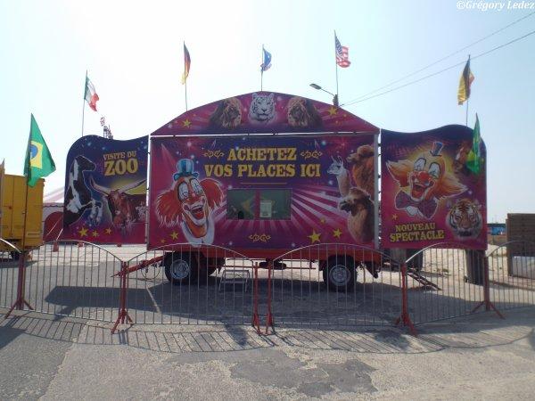 Suite et fin du reportage sur le Cirque de Rio et le Cirque Cilio Ritz à Stella Plage-2016