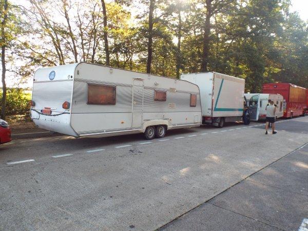 Cirque d'Hiver Bouglione On Tour sur la route de Massy vers Lyon-2016