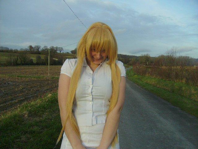 VIP prochain cosplay, essayage wig :D