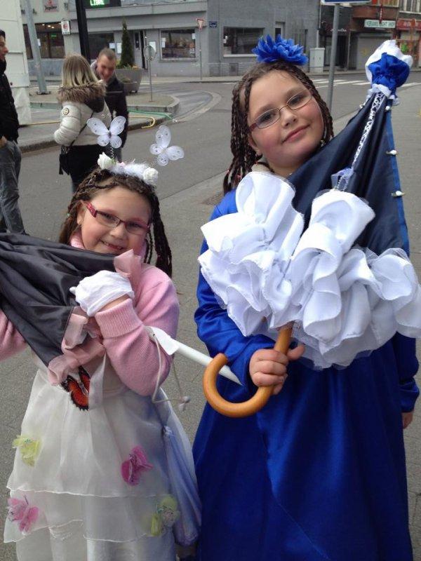 Mes filles carnaval 2015 la louviere les gaies amis