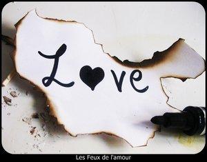 """Chaque fois qu'on parle d'amour, C'est avec """"jamais"""" et """"toujours""""."""